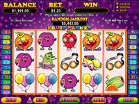 Play Fruit Frenzy at Silver Oak Casino today!