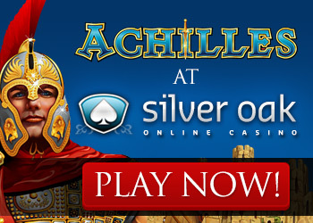 Play Achilles Slots at Silver Oak Casino