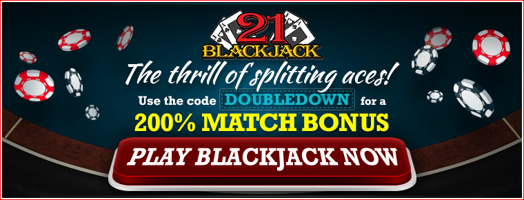 SOAK Black Jack banner - 200% match. Affiliate = 13251