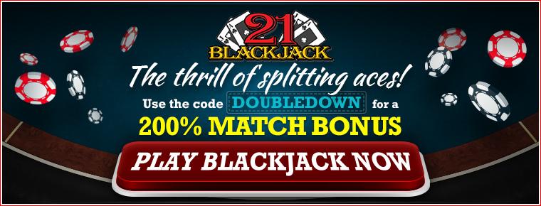SOAK Black Jack banner - 200% match. Affiliate = 13251
