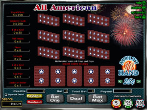 grand online casino poker american
